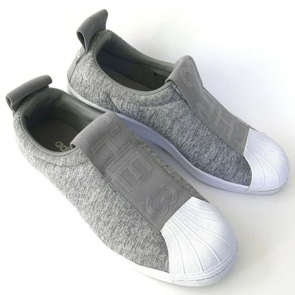 adidas Shoes - Adidas Superstar Bw3s Slip On Womens CQ2520 Gray